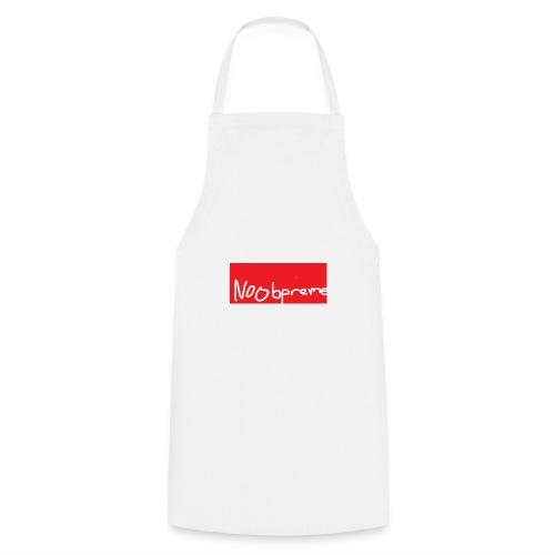 Noobpreme Red White - Kochschürze