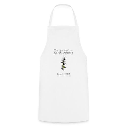 Impossible et fait Femmes brèche Fond Sombre - Tablier de cuisine