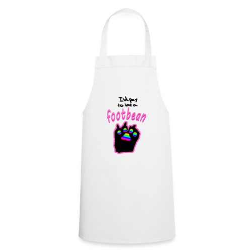 I'd pay to be a footbean - Cooking Apron