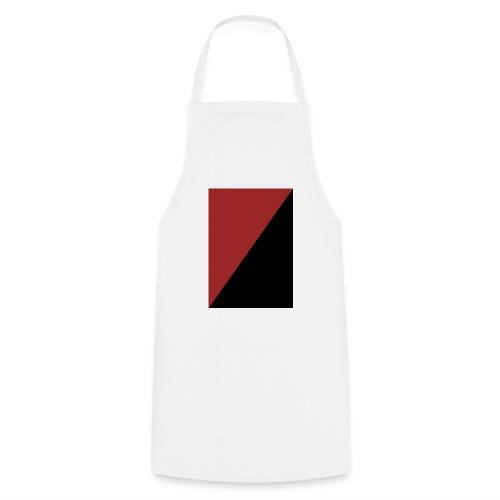 Schwarz/Rot - Kochschürze