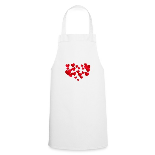 Heart T-Shirt - Cooking Apron