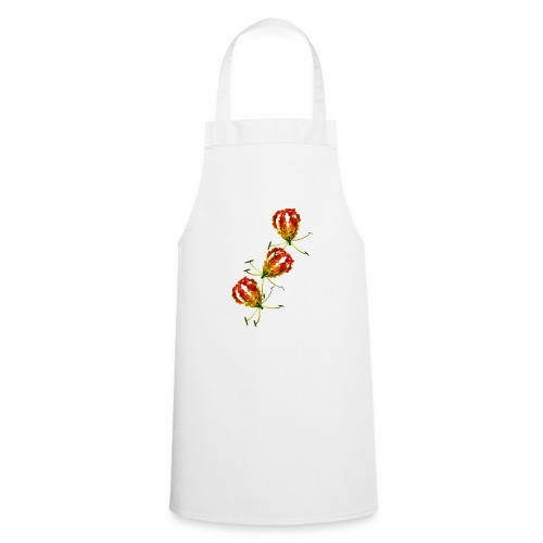 Flame Lily x 3 - Cooking Apron
