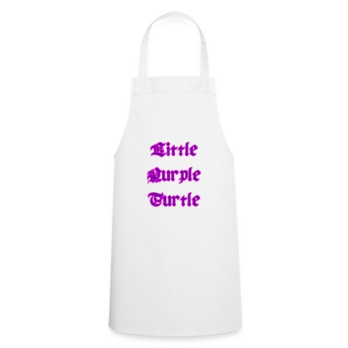 Little Purple Turtle - Cooking Apron