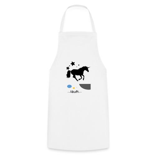 Pferd läuft - Kochschürze