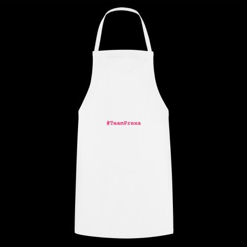 Pink #TeamPrexa LOGO - Kochschürze