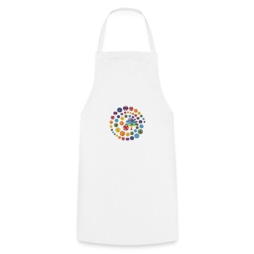 Espiral de Chakras - Delantal de cocina