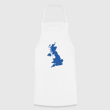 UK MAP - Cooking Apron