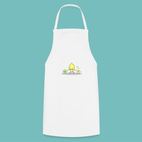 limoncitos kawaii - Delantal de cocina