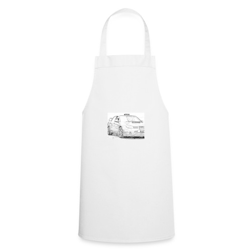 Iv car drawing - Cooking Apron
