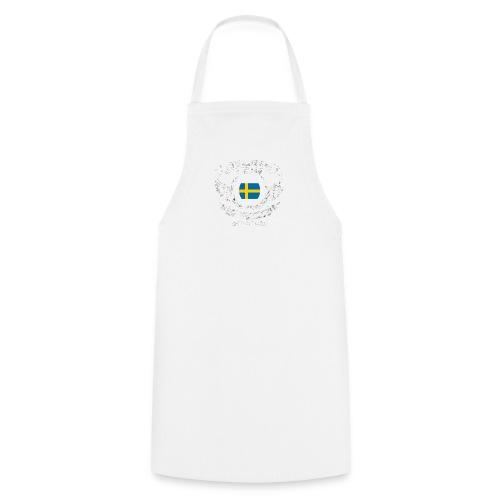 Schweden T-Shirt Urlaub - Kochschürze