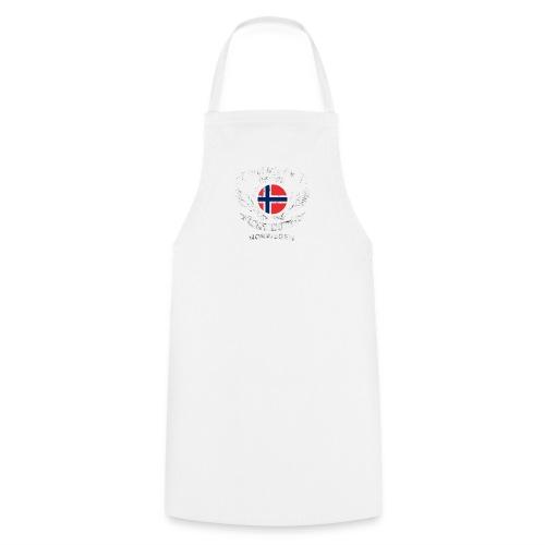 norwegen therapie t shirt retro dfd - Kochschürze