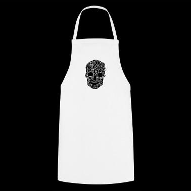 tribal czaszka - Fartuch kuchenny