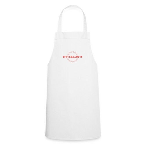 FIT SUN logo V2 corail2 copie - Tablier de cuisine