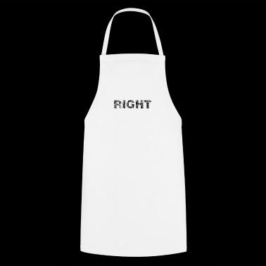 rechts logo - Keukenschort