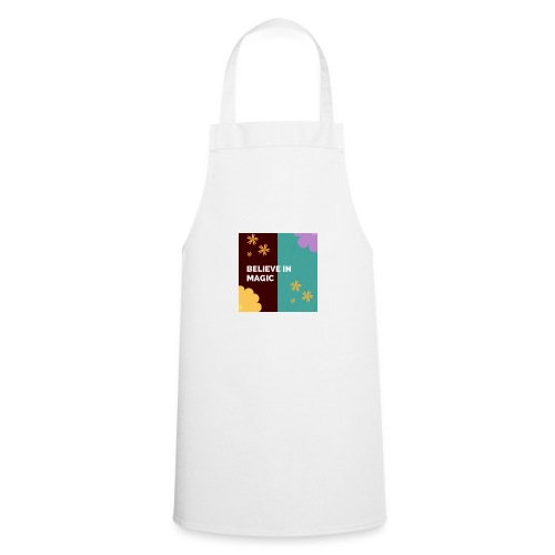 believe in magic xx - Cooking Apron