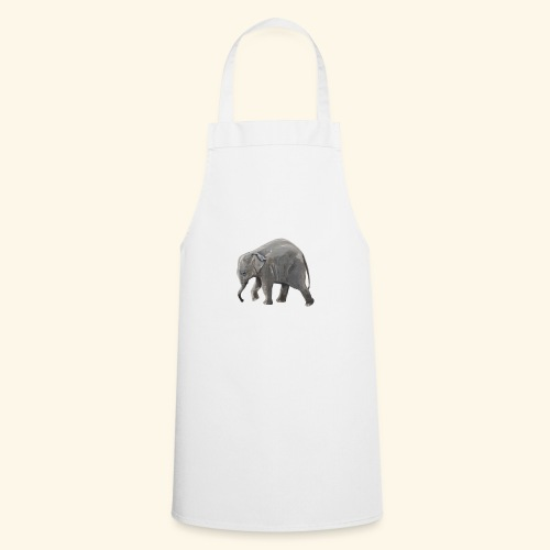Baby elephant on a Mission - Cooking Apron