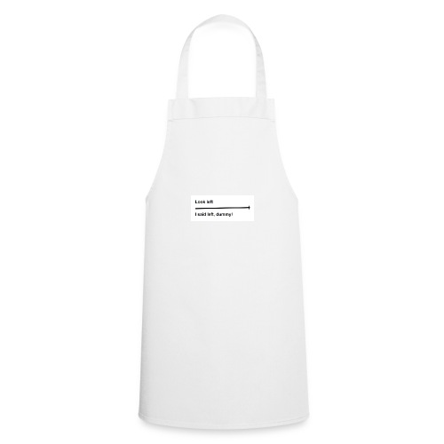 left and right joke - Cooking Apron