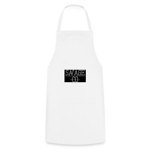 SAVAGE CO. - Delantal de cocina