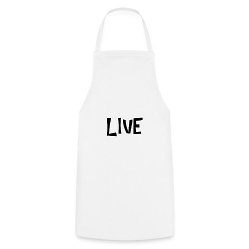 LIVE BLANC - Tablier de cuisine