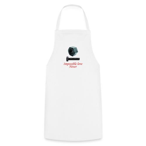 2 Amor imposible nunca - Delantal de cocina