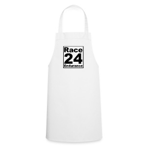 Race24 logo in black - Cooking Apron