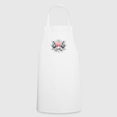 Get inked or the naked - Cooking Apron