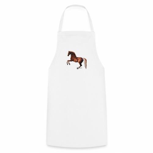 Pferd gemalt - Kochschürze