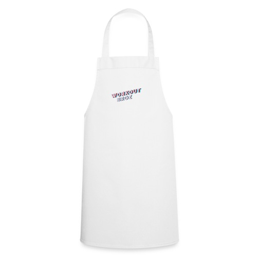 Official WorkoutBroz Logo - Cooking Apron