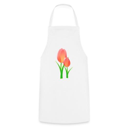 fleur de lotus - Tablier de cuisine