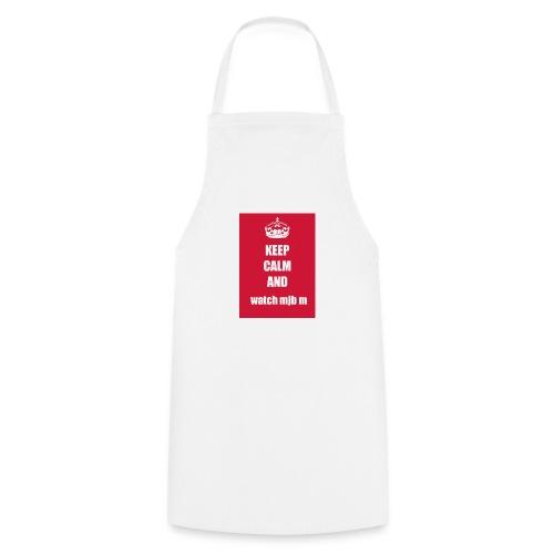Keep calm watch mjb m - Cooking Apron