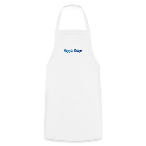 blue BiggieVLogs Kids tshirt - Cooking Apron