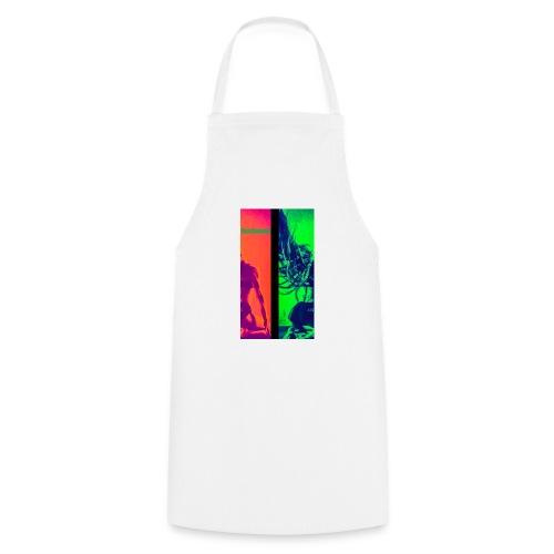 Pop-Art Double Flash Color twist New Neon - Kochschürze