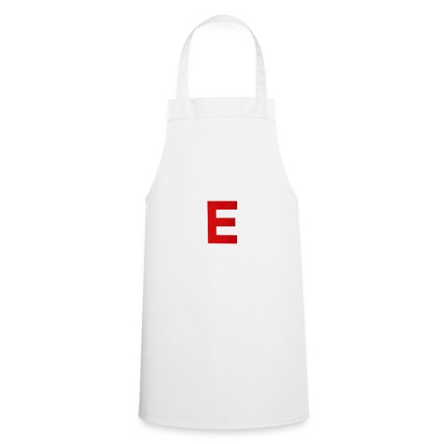 Itz Ethan Red Logo T-Shirt - Cooking Apron