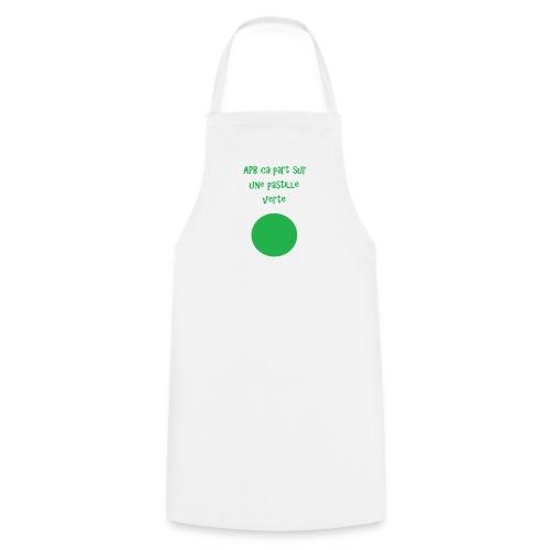 Pastille verte - Tablier de cuisine