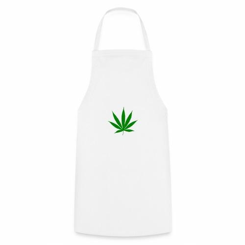 Feuille de weed - Tablier de cuisine