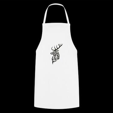 Tribal Stag - Fartuch kuchenny