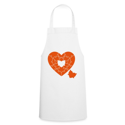 Heart Puzzle - Cooking Apron