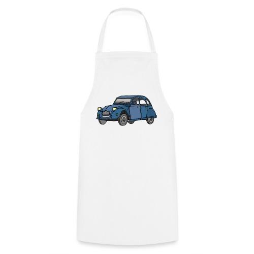 Blaue Ente 2CV - Kochschürze