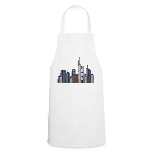 Frankfurt Skyline c - Kochschürze