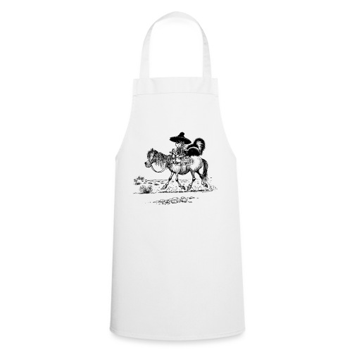 Thelwell 'Cowboy with a skunk' - Cooking Apron