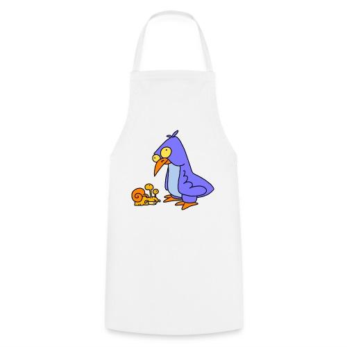 Schnecke und Vogel Nr 2 von dodocomics - Kochschürze