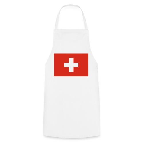 Bandera de Suiza - Delantal de cocina