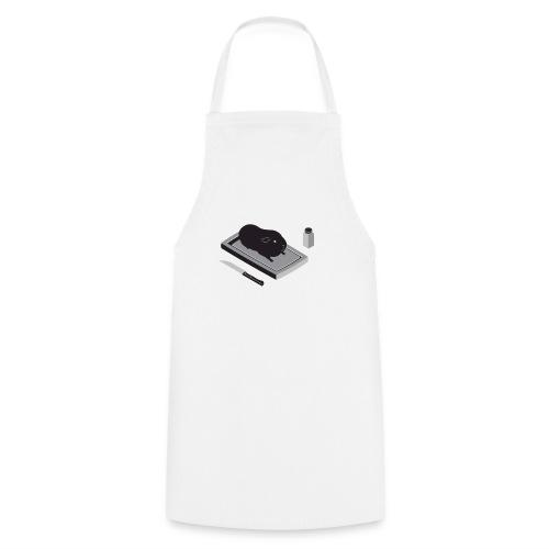 cavia1 groot grijs - Keukenschort
