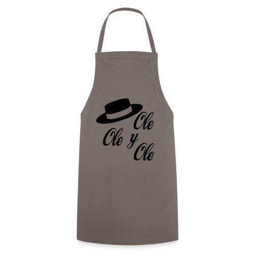Ole,Ole y Ole (Hombre) - Delantal de cocina