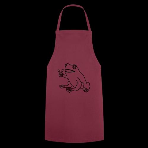 Funny Animal Frog Frosch - Kochschürze