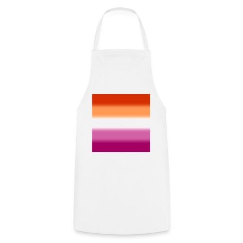 Verschwommene Lesben Flagge - Kochschürze