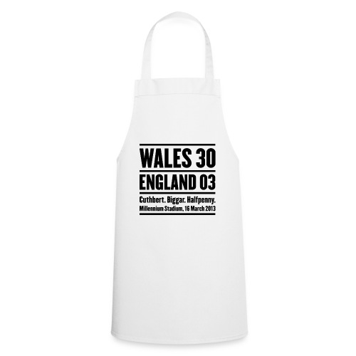 Wales 30 England 3 - Cooking Apron