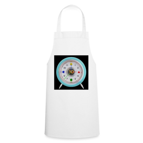 3D O' Clock with 3D engine and objects. - Cooking Apron
