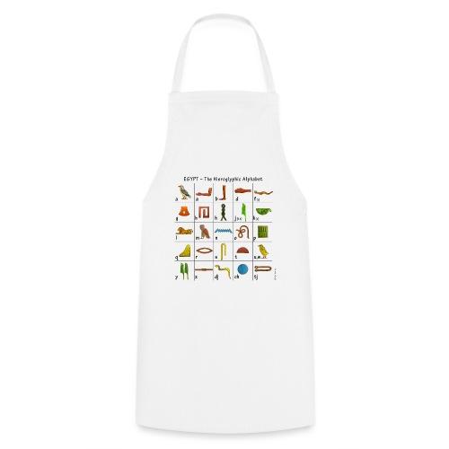 Ägyptisches Alphabet - Kochschürze
