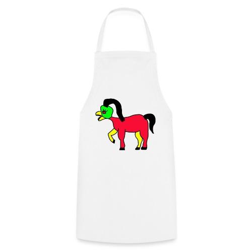 Vogel Pferd Verrückt - Kochschürze